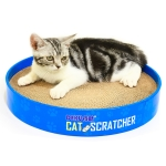 CP-051 Disc-shaped Corrugated Paper Cat Scratch Board Cat Litter Claw Toy