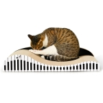 CP-071 Piano-shaped Cat Sofa Corrugated Paper Cat Scratch Board Cat Litter Claw Toy