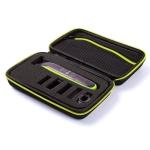 Portable Shaver EVA Protective Bag Storage Bag Box for Philips QP2530 / 2520 (Green)