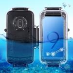 HAWEEL 40m/130ft Waterproof Diving Housing Photo Video Taking Underwater Cover Case for Galaxy  S9+(Black)