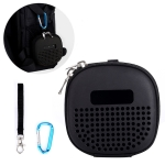 EVA Portable Shockproof Bag for BOSE Soundlink Micro Bluetooth Speaker, with Rope & Metal Buckle (Black)