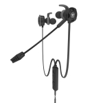 PLEXTONE G30 3.5mm PC Gaming Headset Computer Headphones In Ear Stereo Bass Noise Cancelling Earphone With Mic (Black)