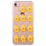 3D Glue Web Celebrity Yellow Duck PC + TPU Protective Case for iPhone 7 / 8