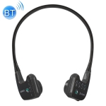 Bone Conduction Headphone Swimming Teaching Bluetooth Headphone (Black)