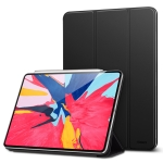 Yippee Magnetic Series Horizontal Flip Leather Case for iPad Pro 12.9 inch (2018), with Holder & Sleep / Wake-up Function (Black)