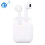 i10-xs Bluetooth V4.2 + EDR Wirelrss Stereo Earphones with Magnetic Charging Box (White)