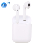 i11-TWS Bluetooth V5.0 Wirelrss Stereo Earphones with Magnetic Charging Box, Compatible with iOS & Android (White)