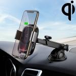 Baseus Smart Car Air Vent Bracket Infrared Sensing Qi Standard Wireless Charger (Black)