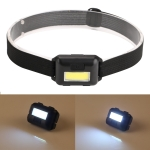 10W COB Headlamp LED Headband Light(Black)