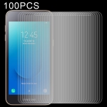 100 PCS 0.26mm 9H 2.5D Explosion-proof Tempered Glass Film for Galaxy J2 Core