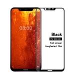 MOFI Diamond 9H 2.5D Full Screen Tempered Glass Film for Nokia 8.1 (Black)