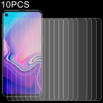 10 PCS 0.26mm 9H 2.5D Explosion-proof Tempered Glass Film for Galaxy A8s