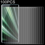 100 PCS 0.26mm 9H 2.5D Explosion-proof Tempered Glass Film for Sony Xperia XZ4