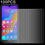 100 PCS 0.26mm 9H 2.5D Explosion-proof Tempered Glass Film for Huawei Honor Play 8A