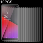 10 PCS 0.26mm 9H 2.5D Explosion-proof Tempered Glass Film for Vodafone Smart X9