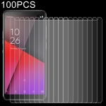 100 PCS 0.26mm 9H 2.5D Explosion-proof Tempered Glass Film for Vodafone Smart X9