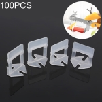 100 PCS 1.5mm Lengthen Tile Leveling System Clips Kit Wall Floor Tile Spacer Tiling Tool