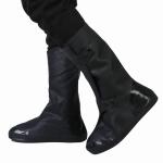 High Tube Rainproof Snowproof Adult Shoe Cover Size: XXXXL (Black)