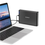 ORICO 7688C3 8TB 3.5 inch USB-C / Type-C Mobile HDD Enclosure with Detachable Base, Cable Length: 1m