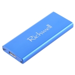 Richwell SSD R16-SSD-120GB 120GB 2.5 inch USB3.0 to NGFF(M.2) Interface Mobile Hard Disk Drive Box(Blue)