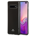 MERCURY GOOSPERY I JELLY METAL TPU Protective Case for Galaxy S10 (Black)