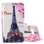 Love Tower Pattern Horizontal Flip Leather Case for Galaxy S10, with Holder & Card Slots & Wallet