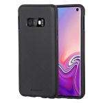 MERCURY GOOSPERY STYLE LUX Series Shockproof Soft TPU Case for Galaxy S10 Lite (Black)