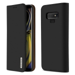 DUX DUCIS WISH Series TPU + PU + Leather Case for Galaxy Note9, with Card Slots & Wallet (Black)