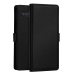DZGOGO MILO Series PC + PU Horizontal Flip Leather Case for Samsung Galaxy S10, with Holder & Card Slot & Wallet (Black)