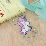 Star Unicorn Pattern Oil Embossed TPU Case for Galaxy S10+