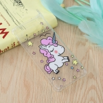 Star Unicorn Pattern Oil Embossed TPU Case for Galaxy S10
