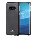MERCURY GOOSPERY PEARL JELLY TPU Anti-fall and Scratch Case for Galaxy S10 Lite(Black)