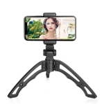 APEXEL Portable Handheld Lazy Live Broadcast Desktop Folding Universal Tripod Phone Holder