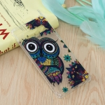 Owl Pattern Oil Embossed TPU Case for Galaxy S10+