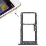 SIM Card Tray + SIM Card Tray / Micro SD Card Tray for Xiaomi Pocophone F1 (Black)