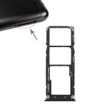 2 x SIM Card Tray + Micro SD Card Tray for Xiaomi Redmi 6 Pro(Black)