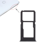 SIM Card Tray + SIM Card Tray / Micro SD Card Tray for Vivo X21i (Black)
