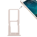 SIM Card Tray + SIM Card Tray / Micro SD Card Tray for Vivo V3Max (Gold)