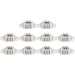 10 PCS Charging Port Connector for OPPO A59s / A59