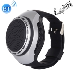 U6 Smart Wireless Bluetooth V3.0 + EDR Sport Music Watch Speaker, Support Hands-free Calls & FM Radio & TF Card(Silver)