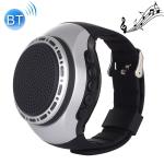 U6 Smart Wireless Bluetooth V3.0 + EDR Sport Music Watch Speaker, Support Hands-free Calls & FM Radio & TF Card(Silver)