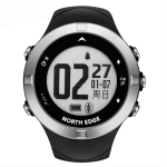 X-TREK2 North Edge Men Fashion Professional Outdoor Sport Waterproof Running Hiking Smart Digital Watch, Support GPS & Heart Rate(Black)
