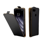 Business Style Vertical Flip TPU Leather Case for Xiaomi Mi 8 Lite, with Card Slot (Black)