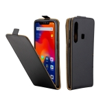 Business Style Vertical Flip TPU Leather Case for Xiaomi Redmi Note 6 Pro, with Card Slot (Black)