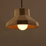 YWXLight Nordic Retro Loft Cement Led Pendant Lights Lighting Bar Counter Kitchen Fixtures Pendant Lamps Decor Hanging Lamp
