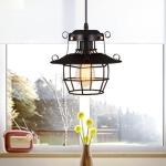 YWXLight Modern Minimalist Creative Personality Chandelier Wrought Iron Pendant Lamp