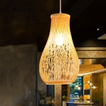 YWXLight Modern Novelty Pendant Lights Hand Woven Grass Vines Shade Hanging Light