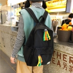 Double Shoulders School Backpack Travel Bag