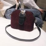 Casual Plush Shoulder Bag Messenger Bag Ladies Handbag (Leopard)