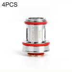 4 PCS Uwell Crown IV Replacement Dual SS904L Coil 0.2ohm, FDA Edition